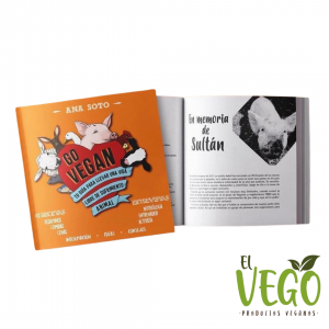 Libro Go Vegan de Ana Soto