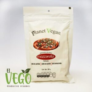 Queso Mozzarella Rallado 300g Planet Vegan