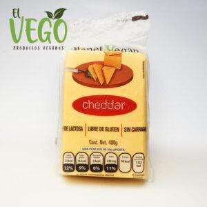 Queso Cheddar 400g Planet Vegan