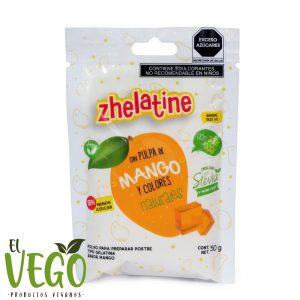 Gelatina Agar Agar Mango 50g Zhelatine